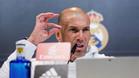 Zidane explica por qué Cristiano se miró en el espejo