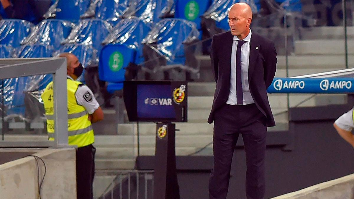 Zidane: Nos ha faltado gol