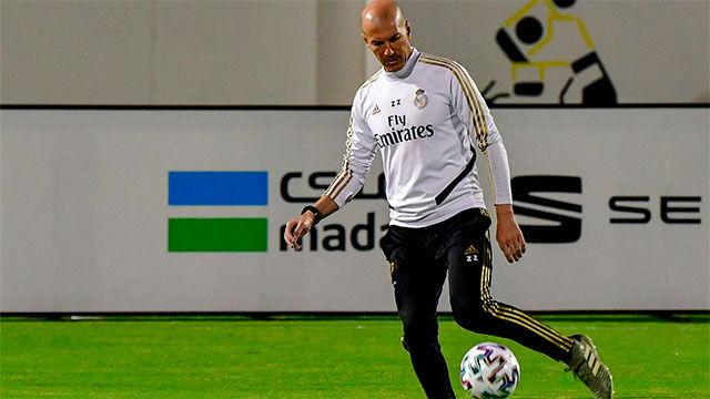 Zidane: No venimos a Arabia de paseo