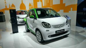 Smart Fortwo cabrio eléctrico.
