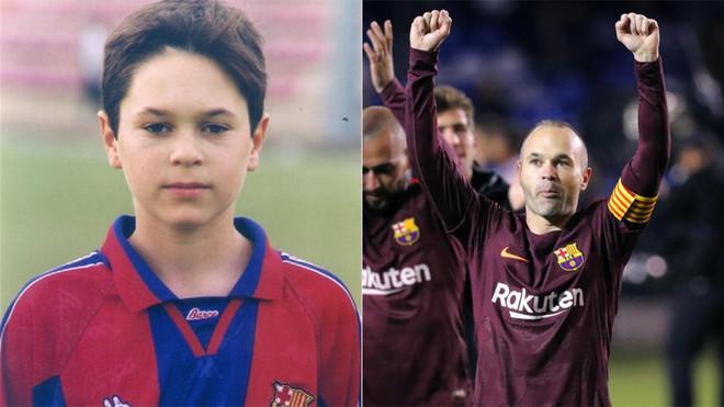 Iniesta explica por qué de niño era del Madrid y no del Barça