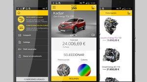 Aplicación Renault 360º Configurador.