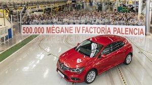 500.000 Renault Mégane.