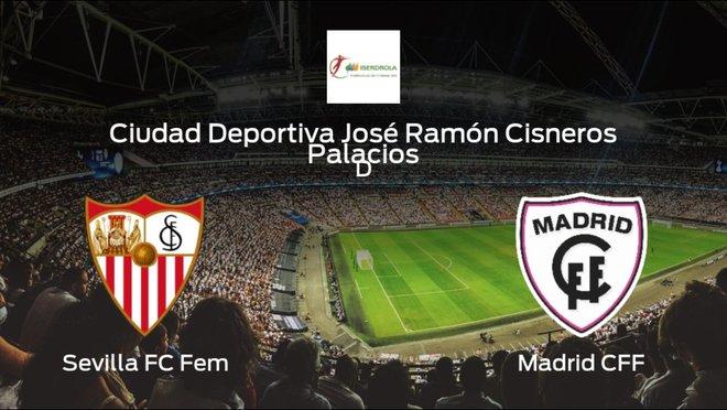 Jornada 12 de la Primera División Femenina: previa del duelo Sevilla Femenino - Madrid Femenino