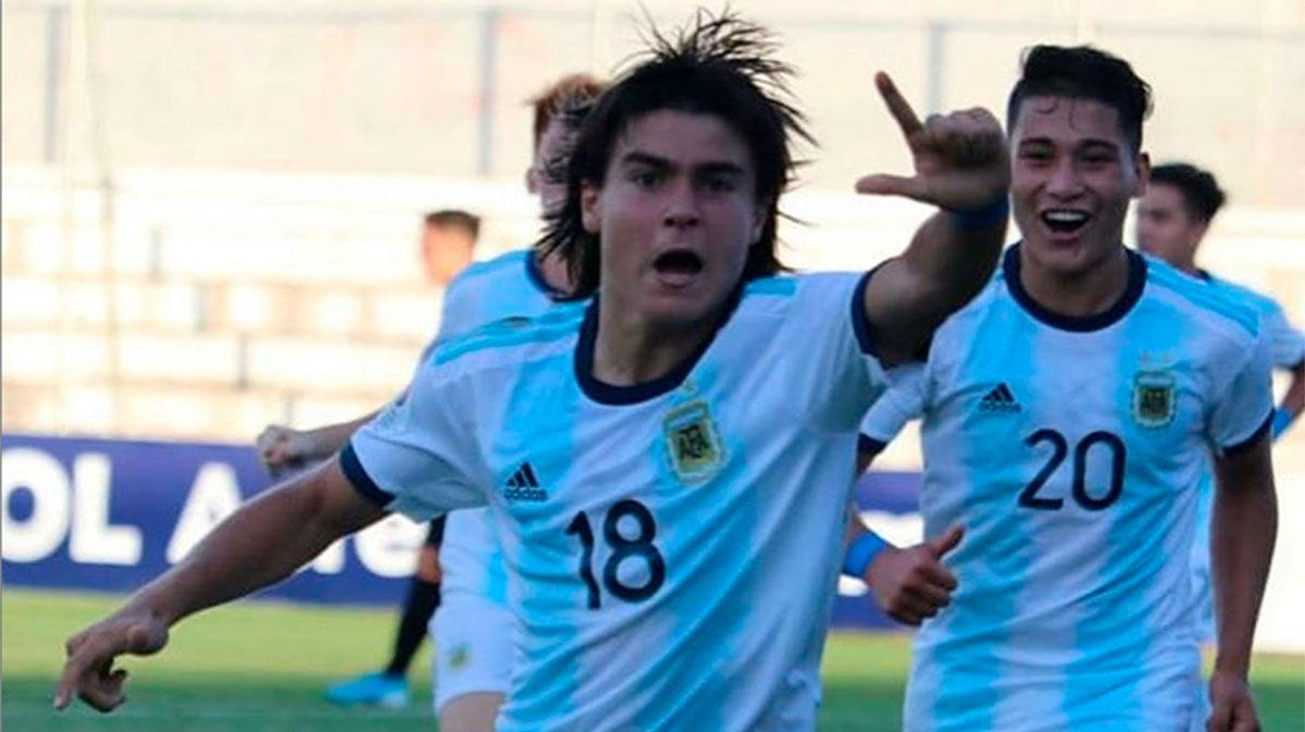 Por jugadas como esta comparan a Luka Romero con Messi. ¡Qué bestialid