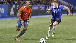 Adama Traoré ha sido convocado por primera vez con la selección española absoluta