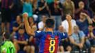 Adolfo realizó un gran encuentro y colaboró al `set¿ con un gol