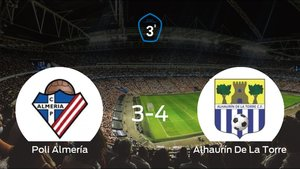 El Alhaurín De La Torre derrota 3-4 al Poli Almería en el Complejo Deportivo Antonio Palenzuela de Viator