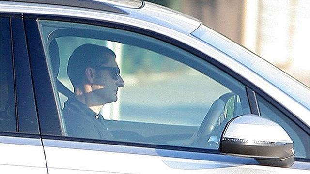 Así llegaron Valverde y los futbolistas del Barça al entreno