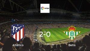 Atlético cruise to a 2-0 win vs. Betis at Wanda Metropolitano