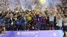 El Barça celebró el último título, la Intercontinental, en San Juan (Argentina)