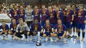 El Barça conquistó el título con autoridad el año pasado