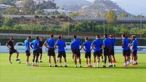 El Barça B de García Pimienta empieza a rodar