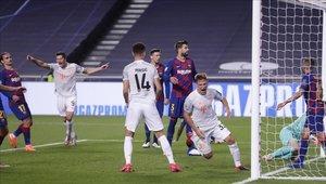 Barcelona vivió una noche olvidable por cuartos de final de la Champions League