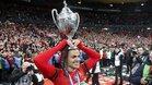 Ben Arfa celebra la Copa del Rennes ante su exPSG