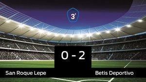 El Betis Deportivo ganó en casa del San Roque Lepe