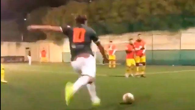 El bombazo de Totti que demuestra que está en plena forma. ¡QUÉ BESTIALIDAD!