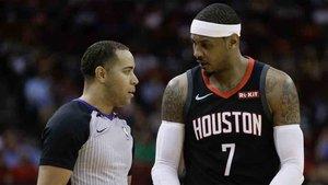 Carmelo Anthony deja los Houston Rockets