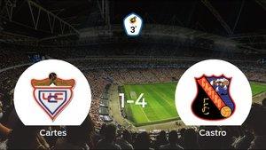 El Castro golea en el estadio del UC Cartes (1-4)