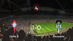 El Celta B vence 1-0 contra el Alcoyano y por ahora toma ventaja en los playoff de permanencia de la Segunda División B