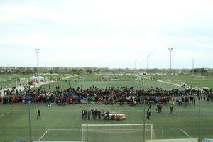 Ceremonia de cláusura del MNC 2019, en el Complex Esportiu Futbol Salou