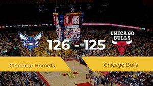 Charlotte Hornets gana 126-125 a Chicago Bulls en la primera jornada de la NBA