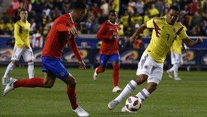 Colombia venció a Costa Rica 3-1 con goles de Bacca y Hernández