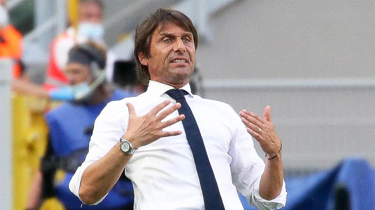 Conte, sobre el penalti fallado por Lautaro: Prefiero no decir nada