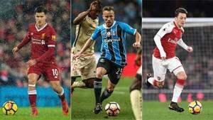 Coutinho, Arthur y Özil, opciones para fichar