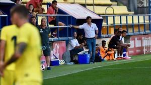 Cuadrat, durante el amistoso que el Bengaluru FC jugó frente al Villarreal B