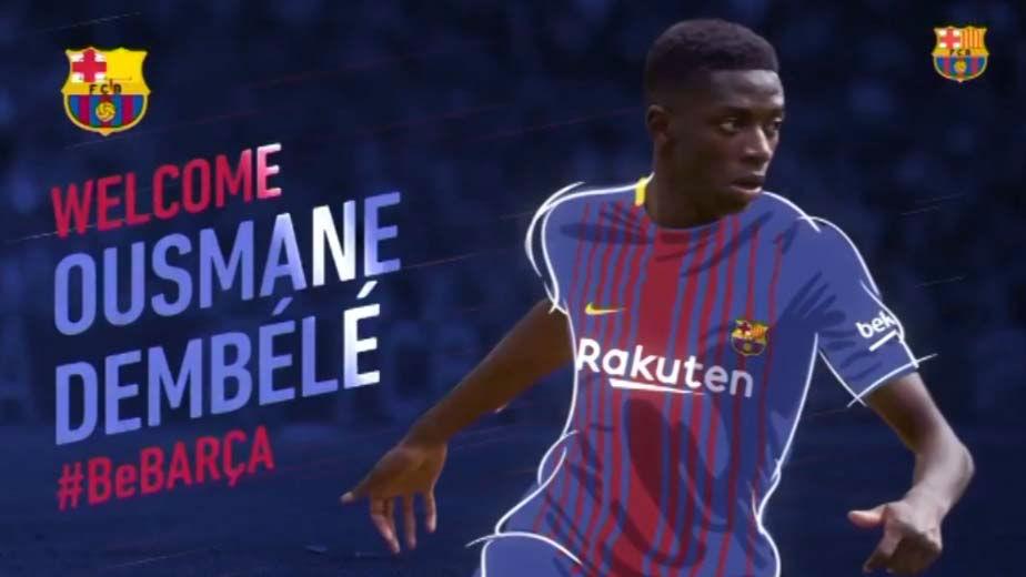Dembélé ya es jugador del FC Barcelona
