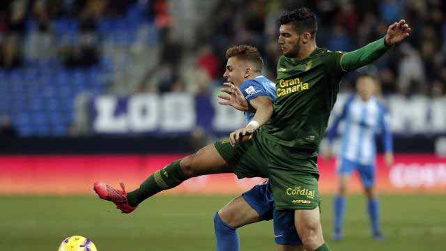 Empate sin goles entre el Málaga y Las Palmas
