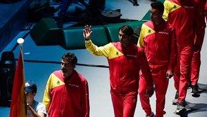 España debuta hoy en la Caja Mágica ante Rusia