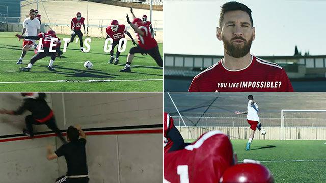 El espectacular anuncio de adidas con Messi, Pogba y Suárez