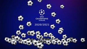Este jueves, sorteo de la Fase de Grupos de la Champions League 2020-2021