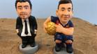 Estos son los caganers de Luis Enrique y Messi