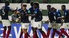 Francia goleó 4-0 a Australia en octavos de final del Mundial Sub 17