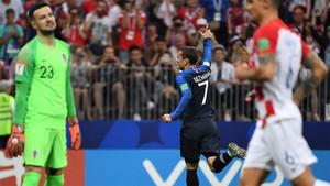Francia se llevó la victoria, pero Croacia lo dio todo en la final