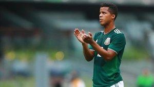 Giovani Dos Santos no juega desde octubre del 2018