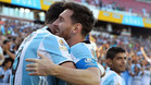 Gonzalo Higuaín y Leo Messi, en una imagen de archivo