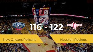 Houston Rockets se hace con la victoria en el Smoothie King Center contra New Orleans Pelicans por 116-122