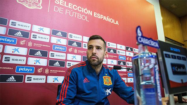 Jordi Alba aclara su relación con Luis Enrique