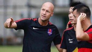 Jordi Cruyff está viviendo una experiencia muy enriquecedora en el fútbol chino