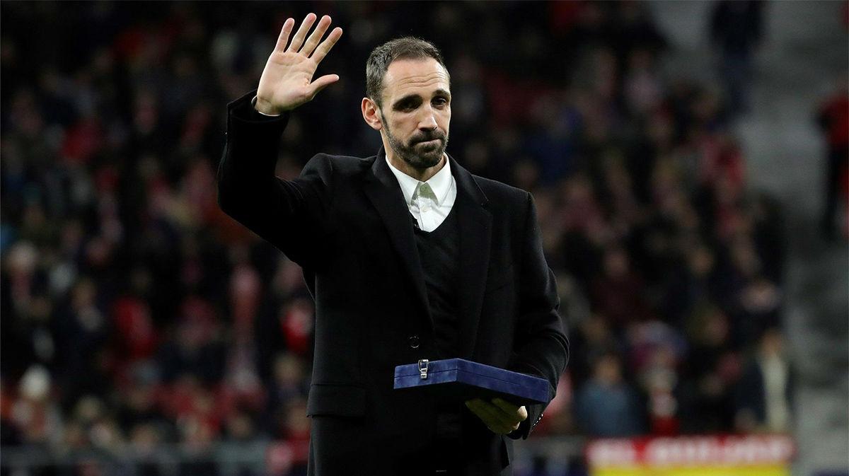 Juanfran: Eliminamos al Liverpool. Tengo buenas sensaciones para Champions