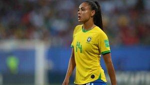 Kathellen Sousa disputó el Mundial con Brasil