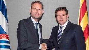 Kelme y el Espanyol han firmado el acuerdo