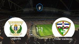 El Leganés B y el Trival Valderas logran un punto tras empatar a uno