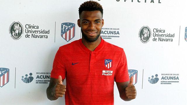 Lemar pasa el reconocimiento médico con el Atlético de Madrid