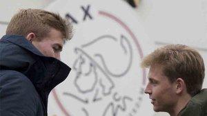 De Ligt y De Jong dejarán el Ajax de Amsterdam