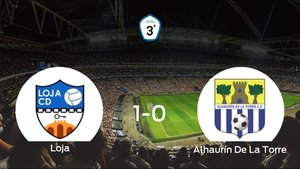El Loja aprovecha la segunda parte para ganar al Alhaurín De La Torre (1-0)